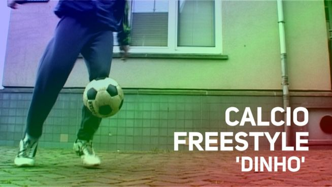 Calcio freestyle in 60 secondi: Dinho