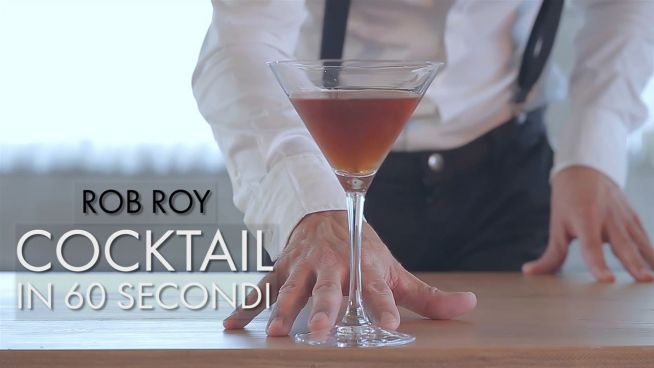 Cocktail in 60 secondi: Rob Roy
