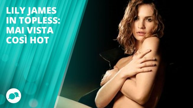 Lily James super hot nel nuovo spot di Burberry