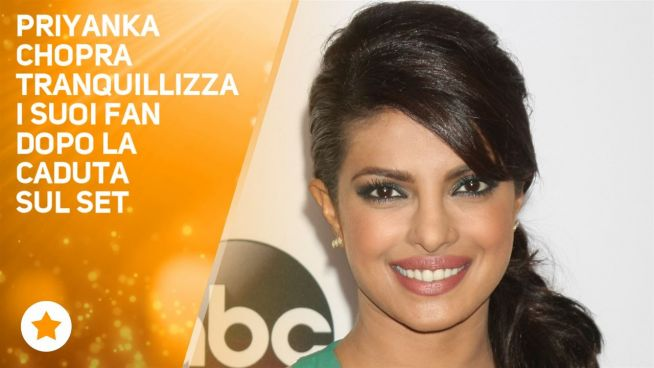 Dopo l'incidente Prianka Chopra ha fatto una promessa