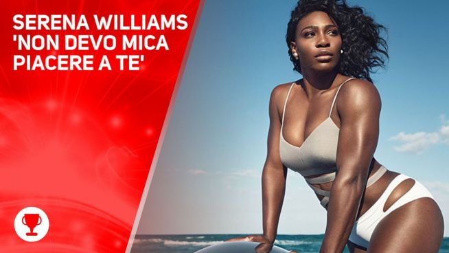 Serena Williams, altro che tennis: la sfida è estetica