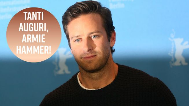 Buon compleanno, Armie Hammer!