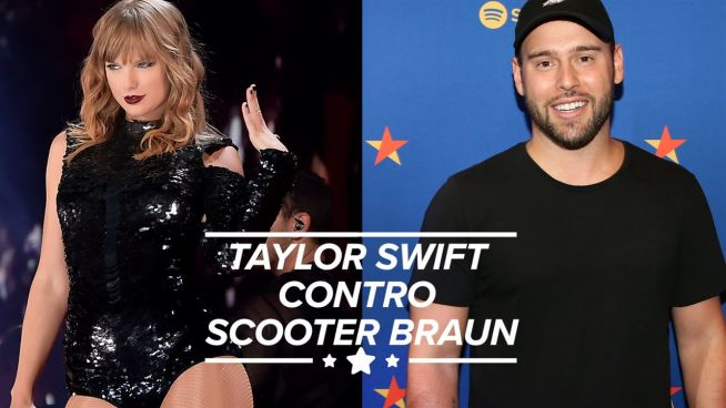 Taylor Swift contro Scooter Braun